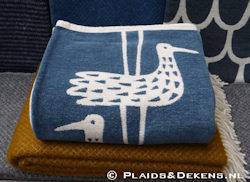 Deken Shorebirds blue