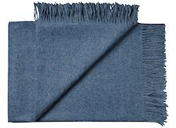 Plaid Baby alpaca jeans blue