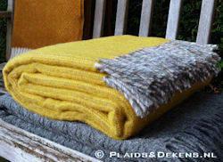 Plaid Bjork geel