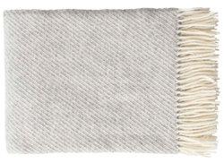 Plaid Classic wool grijs