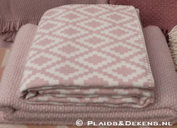 Plaid Diamonds pink