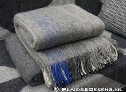 Plaid Gute grey blue