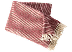 Plaid Knut rose brown
