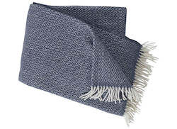 Plaid Stella smokey blue