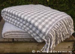 Plaid Tweed grijs