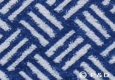 Deken Samba royal blue