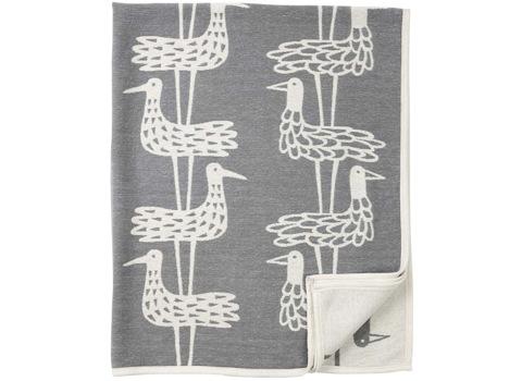 Deken Shorebirds grijs