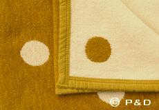Deken Dots mustard
