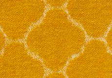 Woondeken Hjordis saffraan patroon
