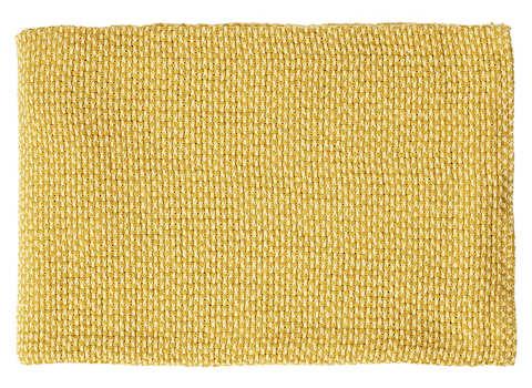Plaid Basket geel