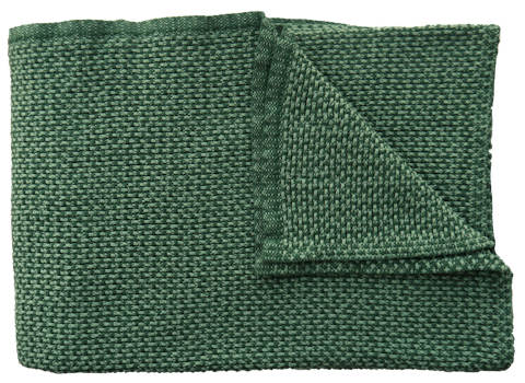 Plaid Basket groen