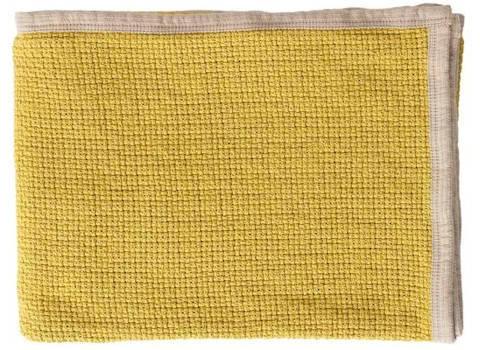 Plaid Decor mustard
