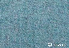 Plaid baby alpaca ocean blue detail