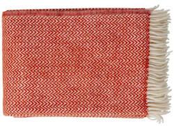 Plaid Chevron ruby red