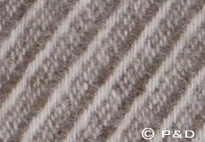 Plaid Classic wool bruin detail