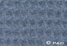 Plaid Claudia grijs detail