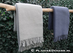 Plaid Claudia linen