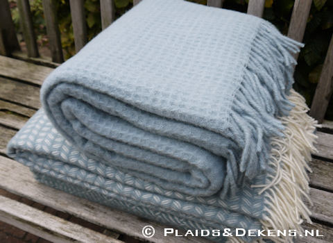 Plaid Claudia misty blue
