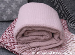 Plaid Claudia pale pink