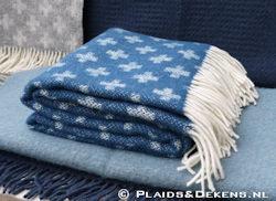 Plaid Cross blue