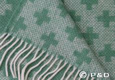 Plaid Cross green detail