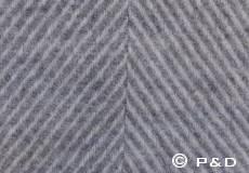 Plaid Danaja Herringbone grijs detail
