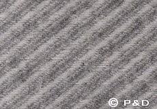 Plaid Danaja New diagonal grijs detail