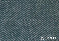 Plaid Diamant green detail