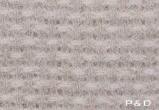 Plaid Domino beige detail