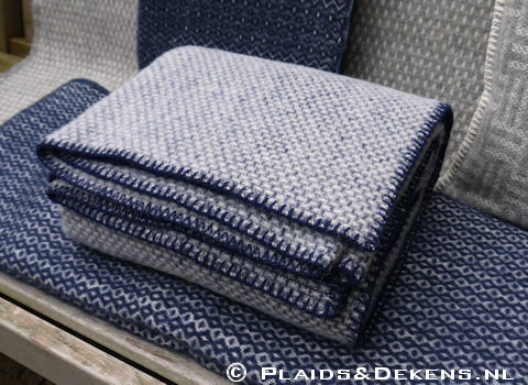 Plaid Domino estate blue
