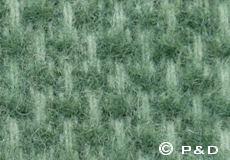 Plaid Domino groen detail