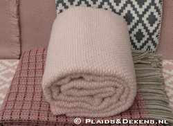 Plaid Domino roze