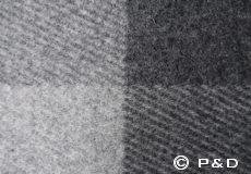 Plaid Field grey detail