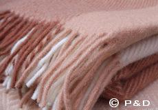 Plaid Field nude franjes