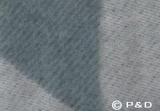 Plaid Focus on Twill ocean grey detail