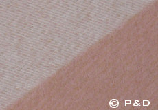 Plaid Focus on Twill powder detail
