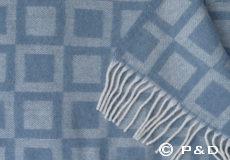 Plaid Frame blue detail