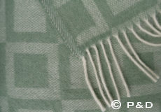 Plaid Frame green detail