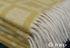 Plaid Frame lemon franjes