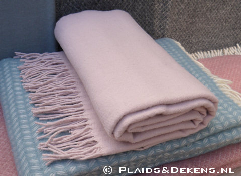 Plaid Gobi pale pink