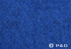 Plaid Gotland blauw detail