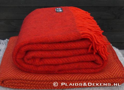 Plaid Gotland rood