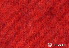 Plaid Gotland rood detail