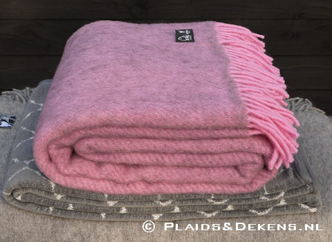 Plaid Gotland roze
