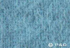 Plaid Gotland turquoise detail