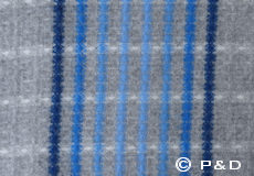 Plaid Graffiti blue detail