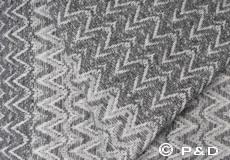 Plaid Granada grijs detail