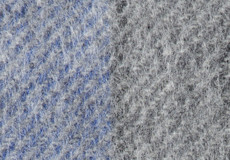 Plaid Gute grey blue detail