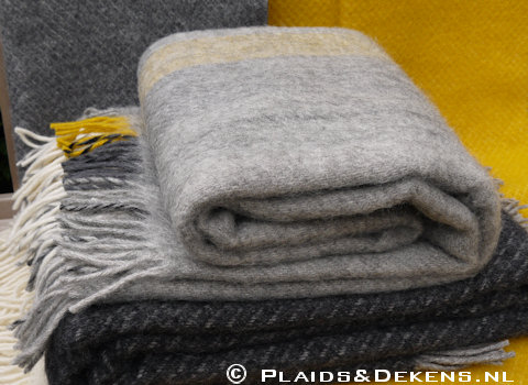 Plaid Gute yellow grey