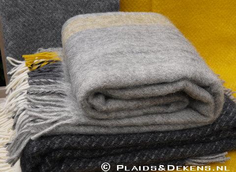 Plaid Gute yellow grey